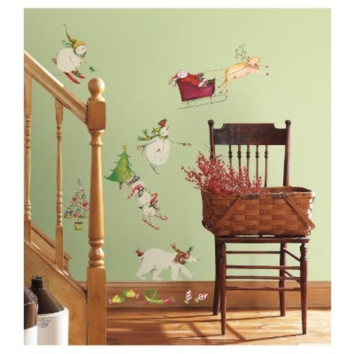 RoomMates Winter Holiday Peel & Stick Wall Decals