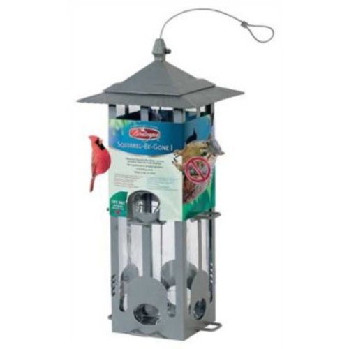 Perky Pet Squirrel Be Gone Hopper Bird Feeder