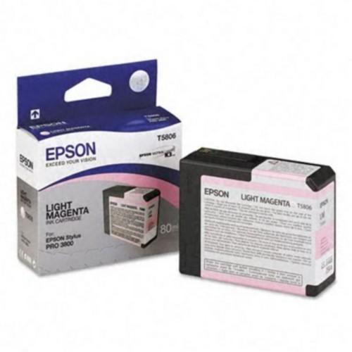 Epson T580600 Ink Cartridge; Light Magenta