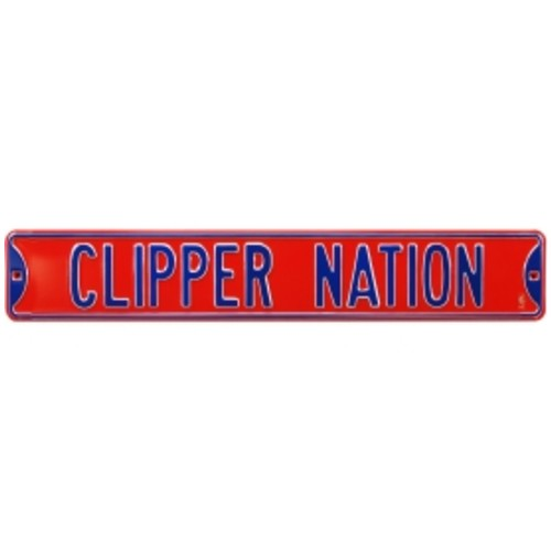 Authentic Street Signs Los Angeles Clippers Clippers Nation' Street Sign