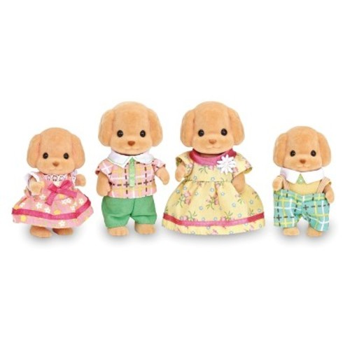 Calico Critters Toy Poodle Family Figures