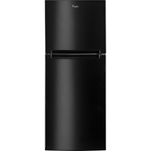 Whirlpool - 10.6 Cu. Ft. Frost-Free Top-Freezer Refrigerator - Black