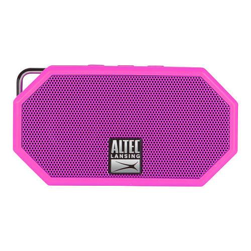 Altec Lansing Mini H20 Bluetooth Speaker - Pink