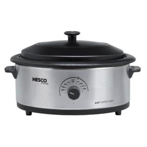 Nesco 6-quart Stainless Steel Roaster Oven