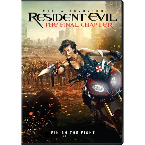 Resident Evil: The Final Chapter (DVD)