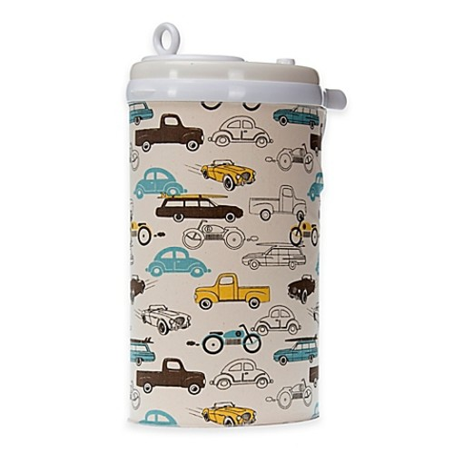 Glenna Jean Traffic Jam Ubbi Diaper Pail Cover