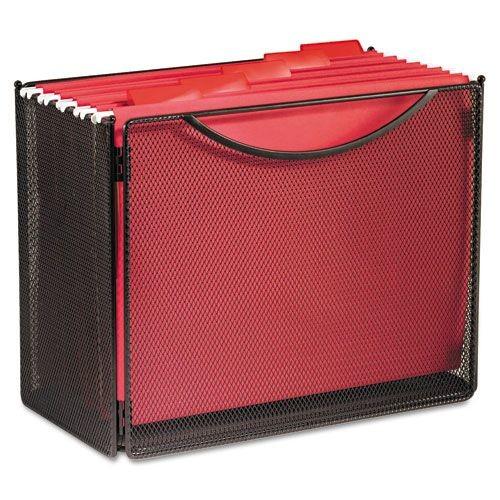 Safco SAF2169BL Onyx Desktop Box Files