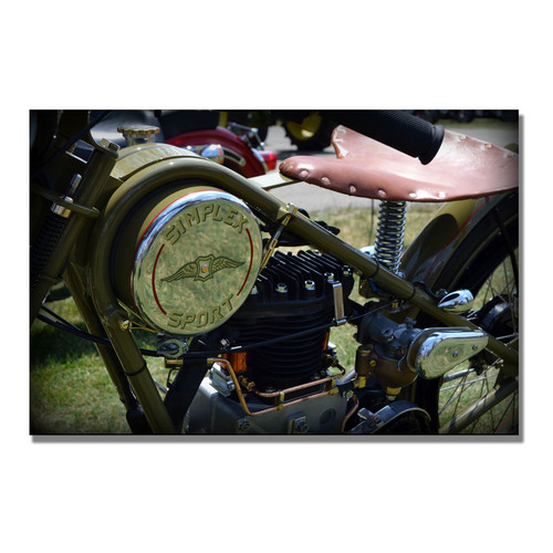 Trademark Global Michelle Calkins '1944 Simplex Sport' Canvas Art [Overall Dimensions : 35x47]