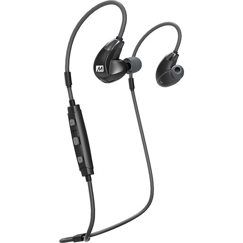 MEE audio X7 Plus Stereo Bluetooth Wireless Sports In-Ear HD Headphones with Memory Wire and Headset Functionality