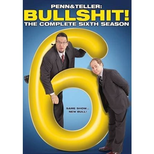 Penn & Teller: Bullshit!: The Complete Sixth Season (DVD)
