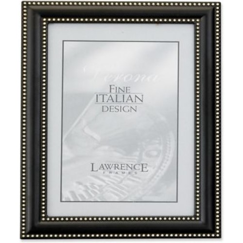 4x5 Metal Picture Frame Oil Rubbed Bronze with Delicate Beading