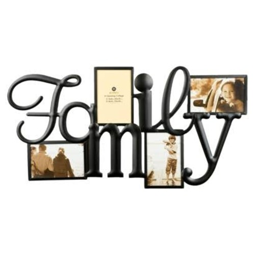 Burnes of Boston Family 4-opening Metal Collage Frame