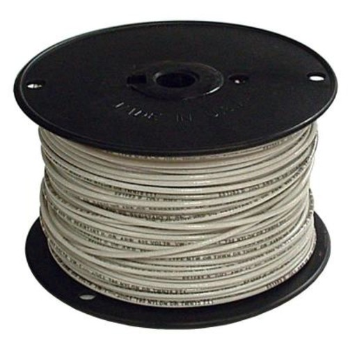 Southwire 500 ft. 2 White Stranded CU SIMpull THHN Wire