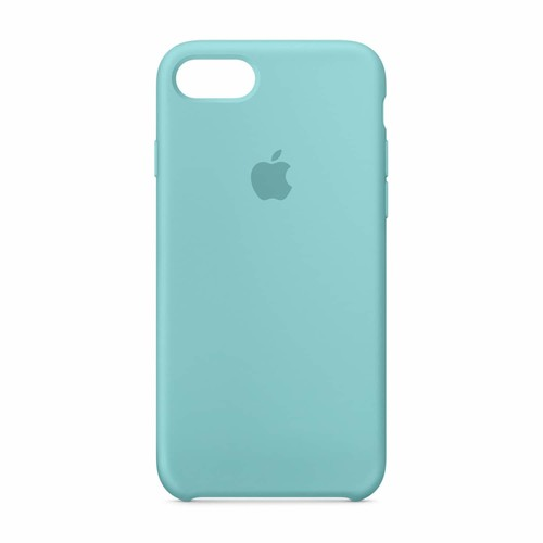 iPhone 7 Silicone Case (Sea Blue)