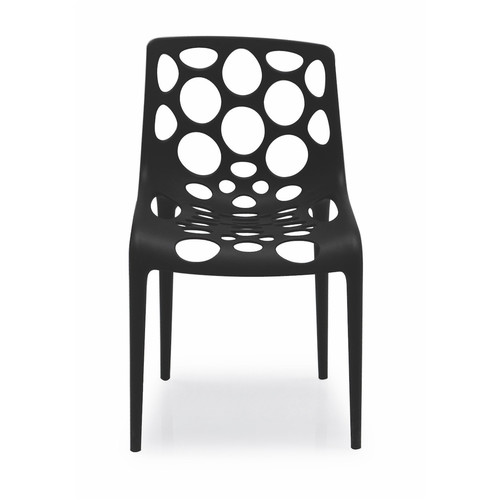 Hero Chair [Finish : P15 Matt Black Polypropylene\/Polyethylene]