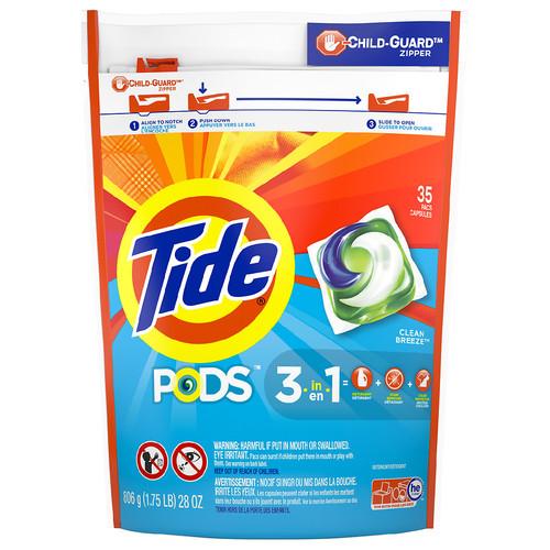 Tide Pods Laundry Detergent Pacs Ocean Mist