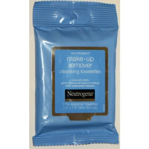 Neutrogena Make-Up Remover Cleansing Towelettes 7 Count (Pack of 6)