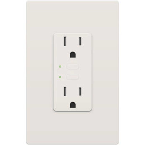 Remote Control Dual On/Off Outlet (Almond)