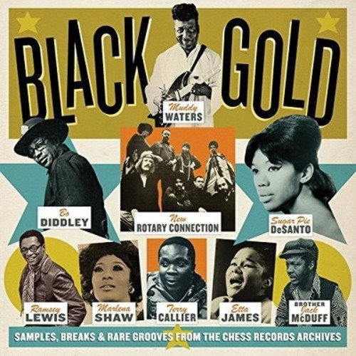 Black Gold: Samples Breaks & Rare Grooves & Var - Black Gold: Samples Breaks & Rare Grooves / Var (CD)