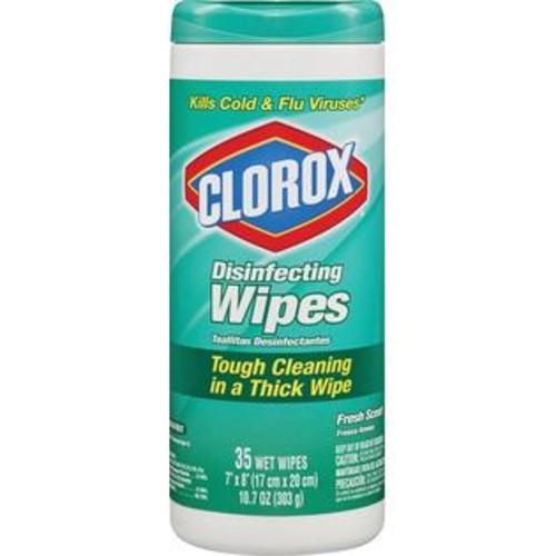 Clorox DISINFECTING WIPES - 01593 FRESH SCENT CLOROX WIPES