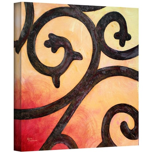 Art Wall Herb Dickinson 'Wrought III' Gallery-Wrapped Canvas
