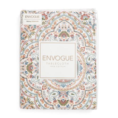 ENVOGUE 60x102 Fall Multi Andora Oblong Table Cloth