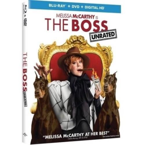 The Boss [Blu-Ray] [DVD] [Digital HD]