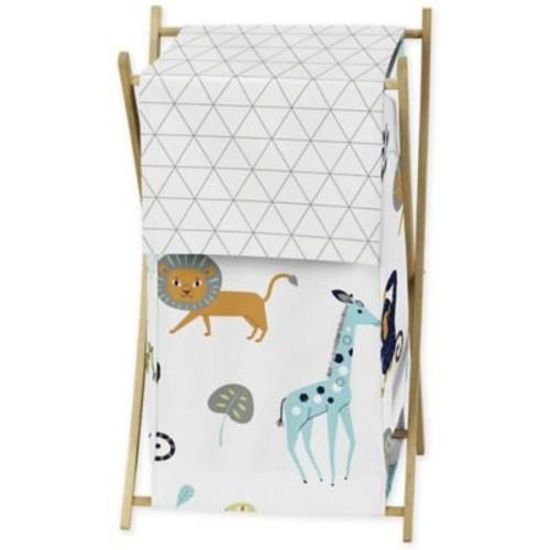 Sweet Jojo Designs Mod Jungle Laundry Hamper