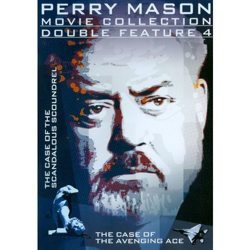 Perry Mason Movie Collection: Double Feature 4 - The Case of the Scandalous Scoundrel/Avenging Ace [DVD]