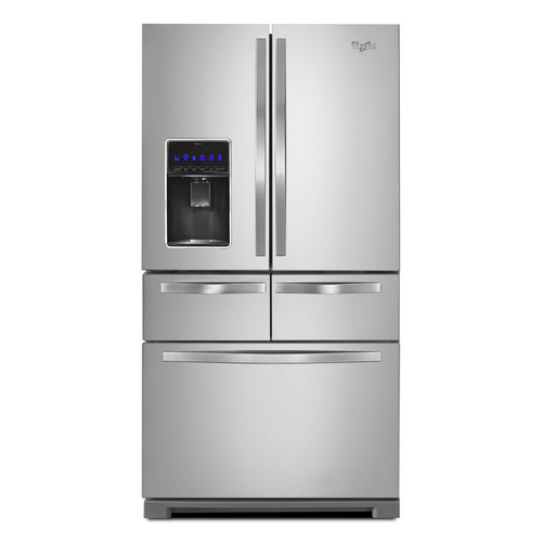 Whirlpool WRV976FDEM 26 cu. ft. Double Drawer French Door Refrigerator - Stainless Steel