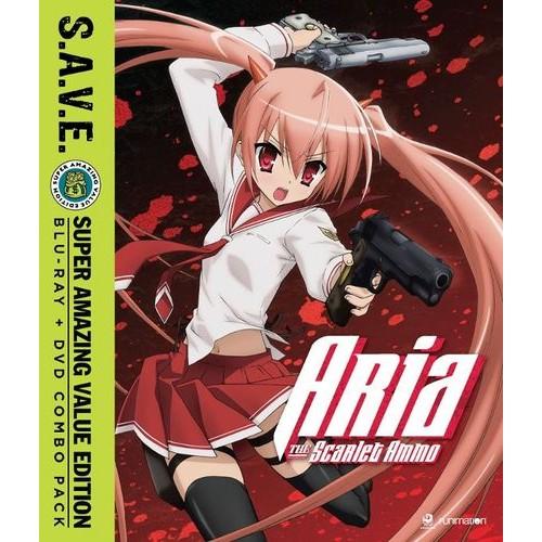 Aria the Scarlet Ammo: Season One [S.A.V.E.] [Blu-ray]