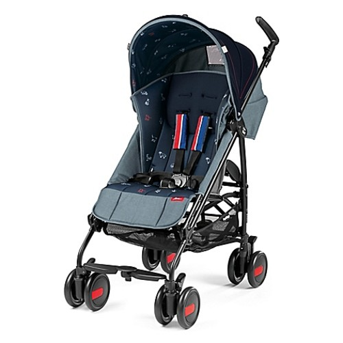 ED by ellen crafted by Peg Perego Pliko Mini Stroller in Navy