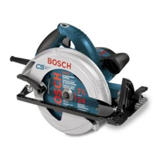 Bosch 15 Amp Corded 7-1/4 in. Circular Saw with 24-Tooth Carbide Blade and Carrying Bag