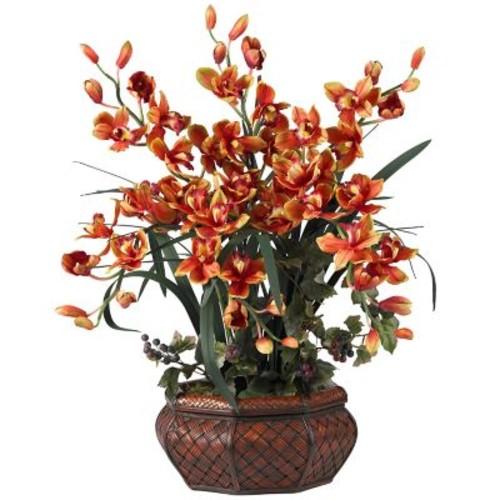 Nearly Natural 1199 Large Cymbidium Floral Arrangements