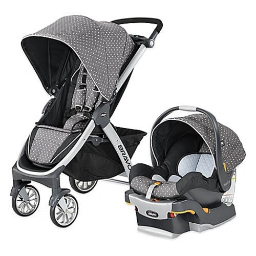 Chicco Bravo Trio Travel System in Lilla