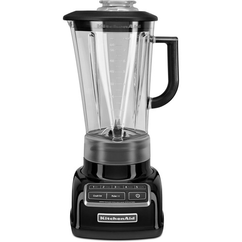 Diamond 5-Speed Blender with 60 Oz. One-Piece BPA-Free Diamond Shaped Pitcher - Onyx Black