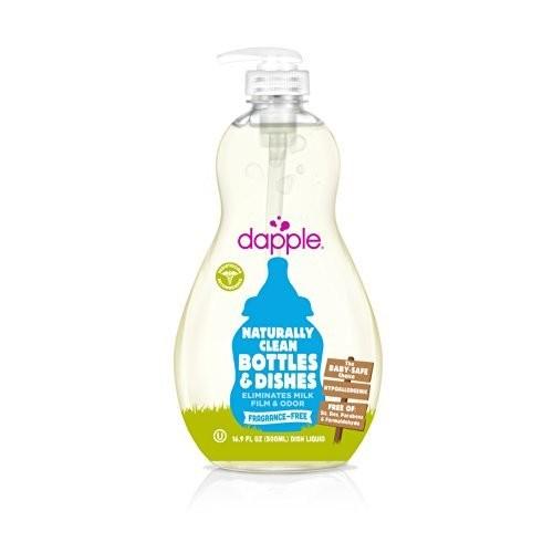 Dapple Fragrance-Free Baby Bottle & Dish Liquid 16.9 oz [Multi]