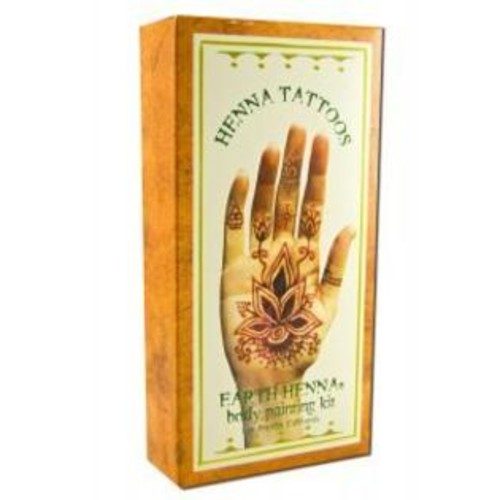 Lakaye Studio Earth Henna Body Painting Kit Original 1 kit by Earth Henna