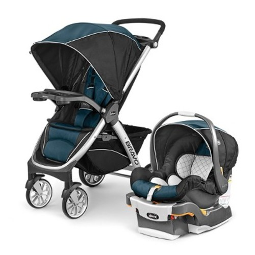 Chicco Bravo Trio Travel System - Lake