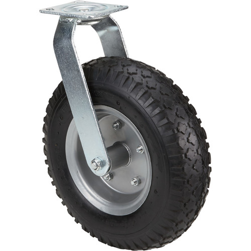 Strongway 12in. Swivel Flat-Free Rubber Foam-Filled Caster  330-Lb. Capacity, Knobby Tread