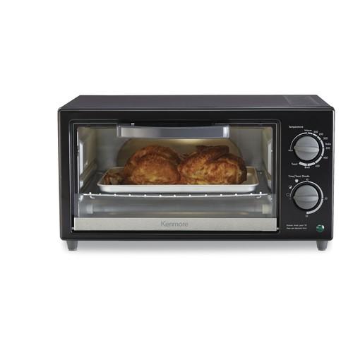 Kenmore KMOPPTO 4-Slice Toaster Oven - Black