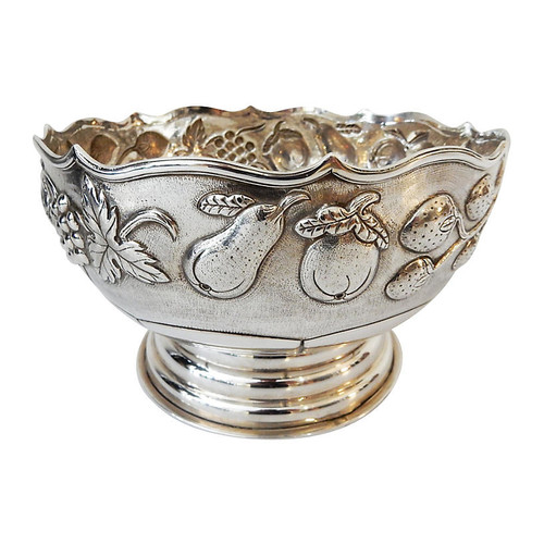 ethnika home decor and antiques Antique Silver Bowl