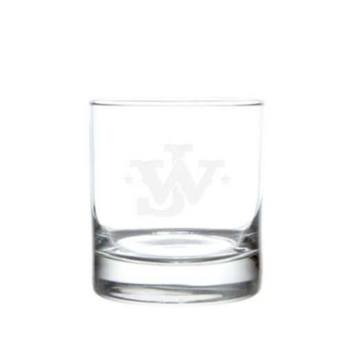 Rolf Glass John Wayne Monogram On The Rocks Glasses (Set of 4)
