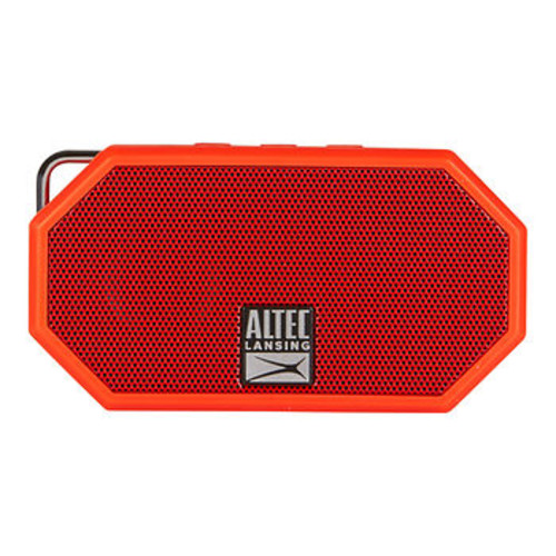 Altec Lansing Mini H2O Bluetooth Speaker - Deep Red