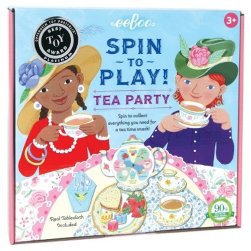 Tea Party Spinner Board Game