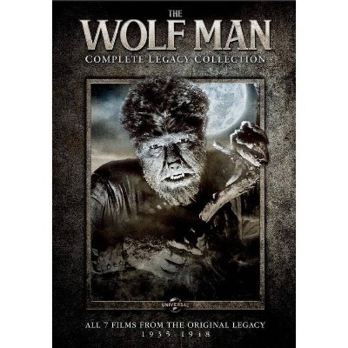 Wolf man:Complete legacy collection (DVD)