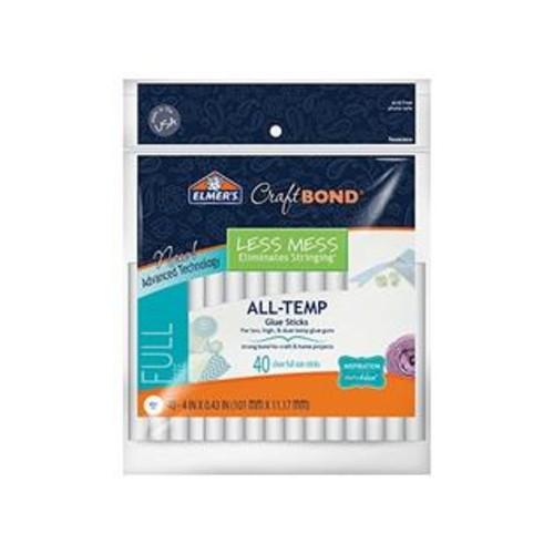 Elmer'S Craftbond(R) Less Mess All-Temp Glue Sticks-7/16x4 40/Pkg