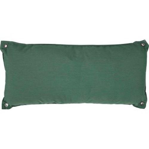 Pawleys Island Traditional Green Olefin Hammock Pillow