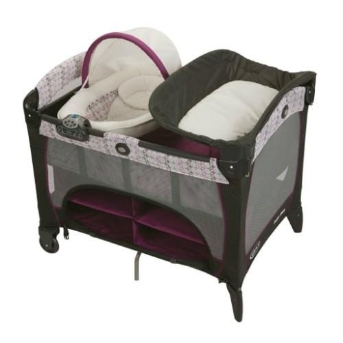 Graco PNP Newborn Napper DLX - Nyssa PNP Playard