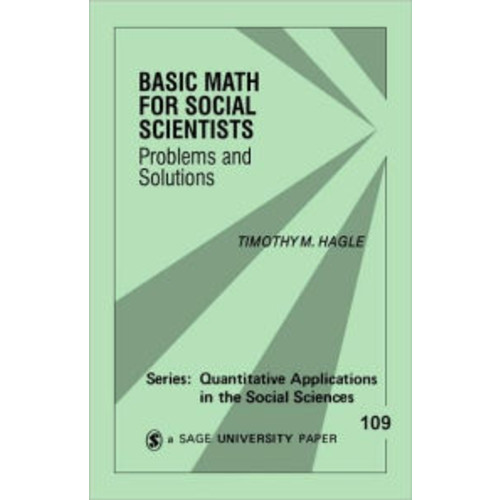 Basic Math for Social Scientists: Problems and Solutions / Edition 1